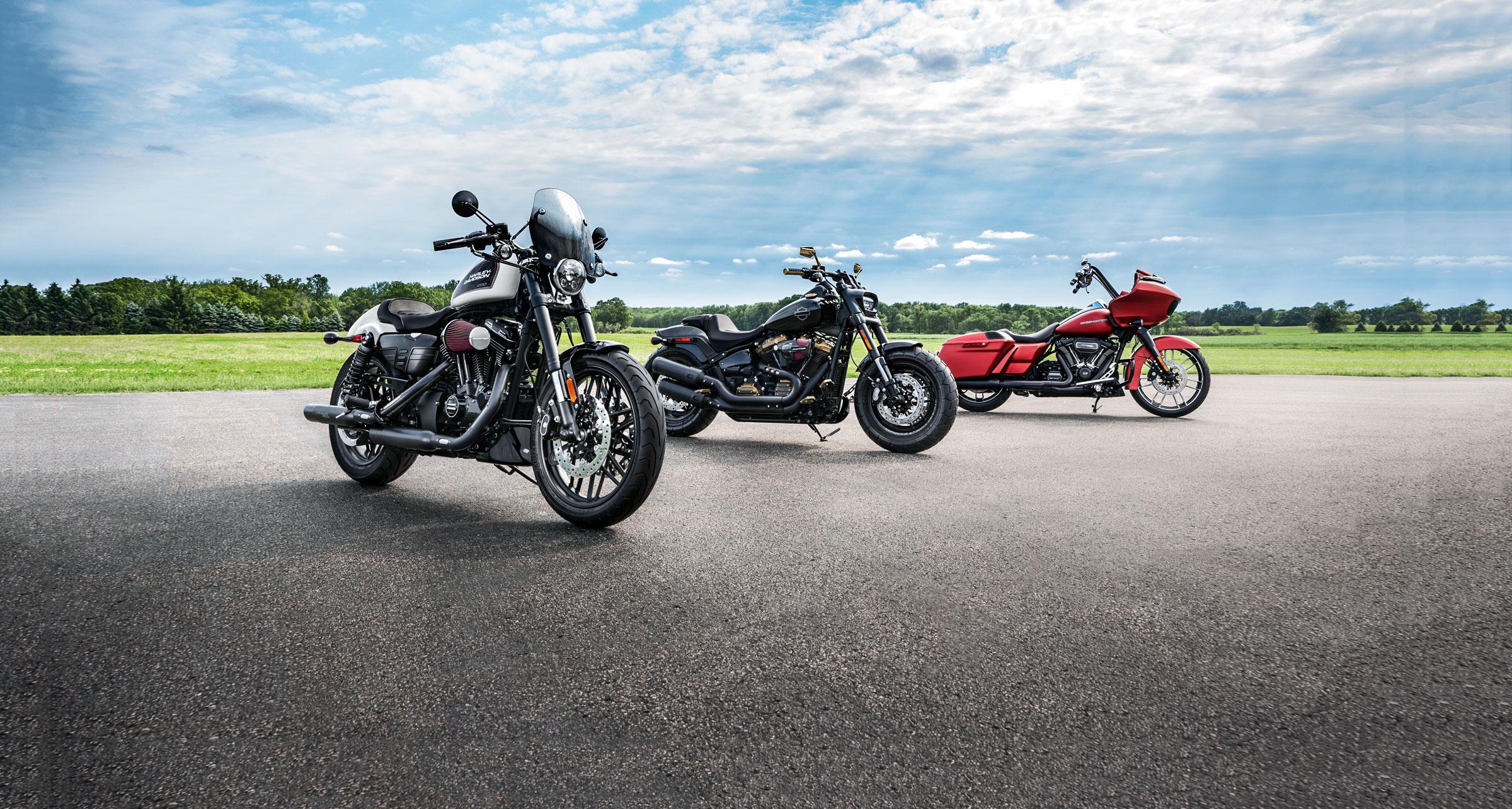 Harley-Davidson podczas Moto Show Bielsko-Biała